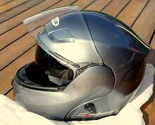 ZEUS Modular Flip Front Helmet 3000A - Titanium XL Camp Mountain Brisbane North West Preview