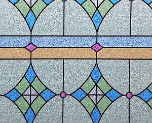 Pellicola statica decorativa per vetri cm 45x200 hp 005 1 for Pellicola adesiva per vetri ikea