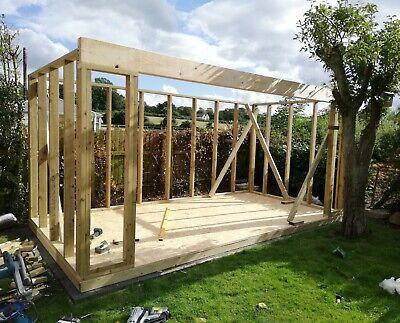 garden room timber frame 12x10ft garden office garden studio mancave summerhouse