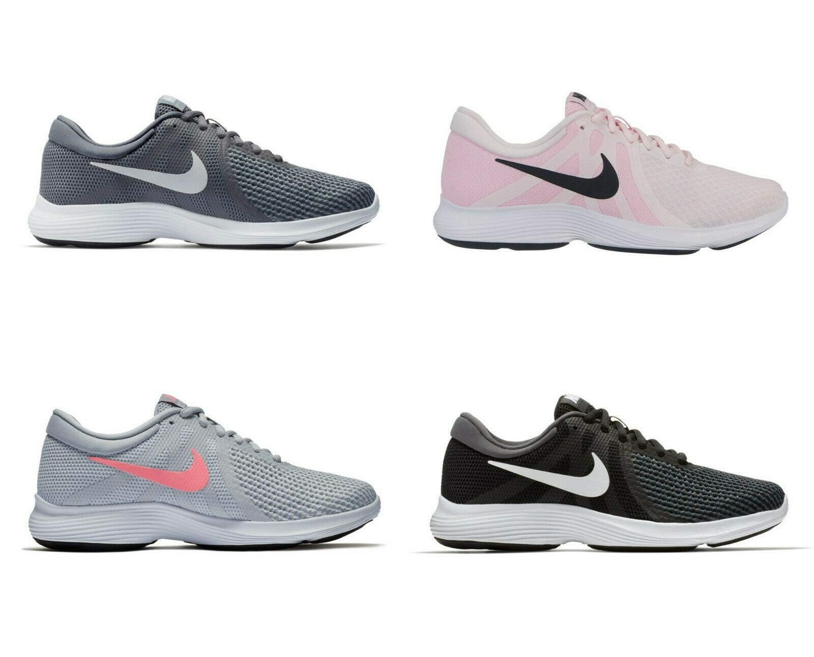 NEW NIKE WOMEN'S REVOLUTION IV 4 RUNNING TRAINING SHOE-DIFFERENT SIZES & COLORS!