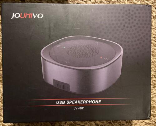 Jounivo JV-801 USB Speakerphone Microphone, Conference Speaker - $28.98