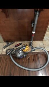 Dyson Vacuum With all the attachments