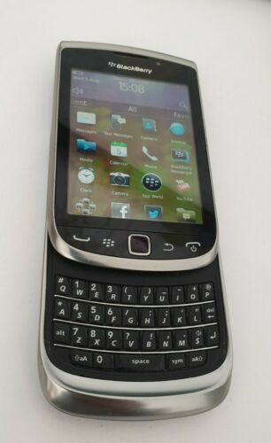 Android Phone - BlackBerry Torch 9800 - 4GB - Silver - Mobile Phone