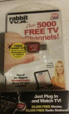 Rabbit TV-ON SALE-Web TV (Alternative) TV USB-Device-Gadget-Free Channel Connect