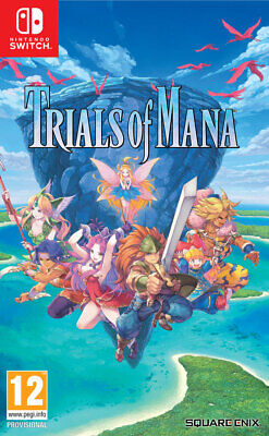 Trials of Mana (Switch)  BRAND NEW AND SEALED - IN STOCK - QUICK DISPATCH