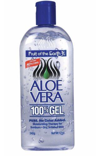 1 Bottle Fruit Of The Earth Aloe Vera 100% Gel 12 oz BUY 3 G