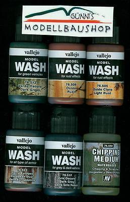 Vallejo Washes - Wählen Sie selbst aus