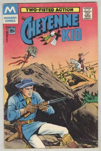 Cheyenne Kid #89 VG 1971