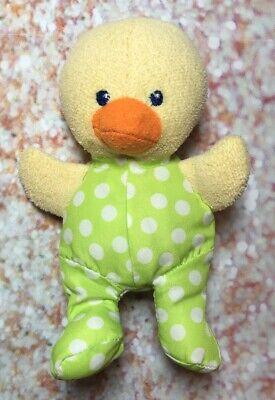Garanimals Green Polka Dot Duck Plush 6
