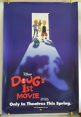 Disney DOUGS 1ST MOVIE Original 1999 Theater Poster 27x40 Jim Jinkins