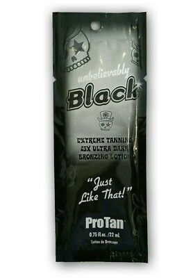 Pro Tan Unbelievably Black/Solariumkosmetik