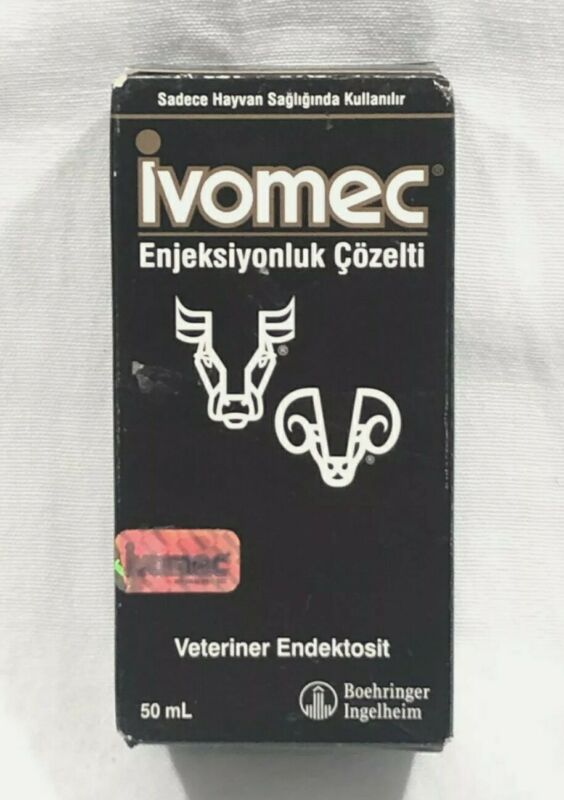 Ivomec Injection for Cattle and Swine 50 Ml NIB Exp. 08/2023 (open box)