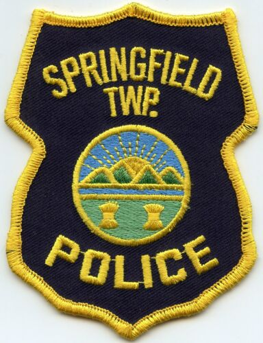 SPRINGFIELD TOWNSHIP OHIO OH POLICE PATCH