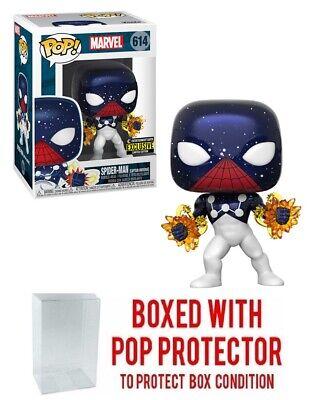 Funko POP! Marvel Spider-Man (Captain Universe) EE Exclusive #614 w/ Case Marvel Captain Universe