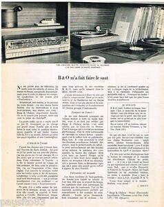 publicite advertising 095 1968 bang olufsen struer chaines haute fid lit ebay. Black Bedroom Furniture Sets. Home Design Ideas