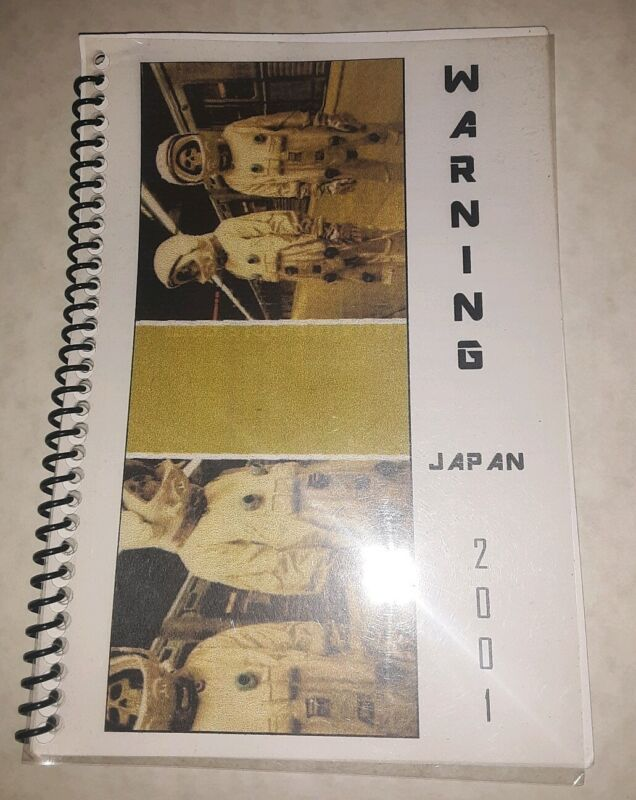Vtg Rare Green Day 2001 Japan Warning Tour Itinerary Book american idiot dookie