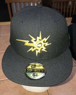 reputable site 101ac a6bb9 NWT West Virginia Power Minor League Baseball NEW ERA 59 50 Fitted Hat Cap  6 3 4