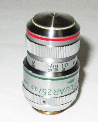 Zeiss 461626 Ph2 Plan Neofluar 25x 0.8 1mm Oil Glyc W Axio Microscope Objective