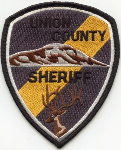 UNION COUNTY OREGON OR SHERIFF POLICE PATCH
