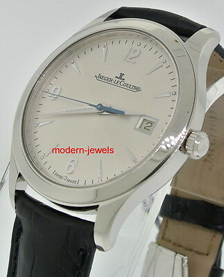Jaeger LeCoultre JLC Master Control Date Men Steel Automatic Watch Q1548420 for sale  Shipping to Canada
