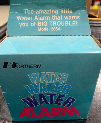 Vintage Northern Water Alarm Model 2664 Water Alarm Battery Operated-new
