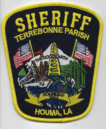 Terebonne Parish Sheriff Police State Louisiana LA Colorful