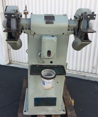 Vintage Standard Electric Tool Machinery 10 Grinder 220440v 3ph