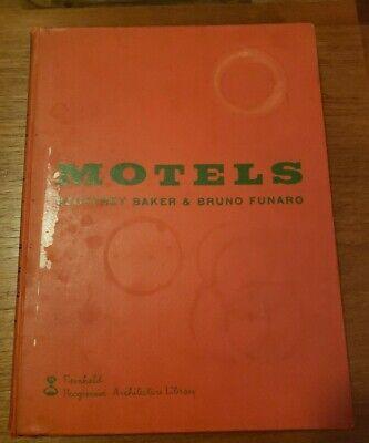 Motels 1955 Geoffrey Baker Bruno Funaro Mid Century Progressive Architecture Lib