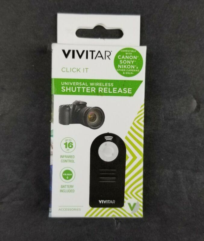 Vivitar Universal Wireless Shutter Release Remote Control for Canon New