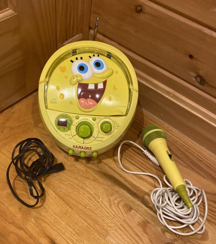 Spongebob Squarepants Radio Karaoke Machine
