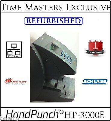 Ref. Schlage Biometric Handpunch Hp 3000e Wamg Employee Attendance Software