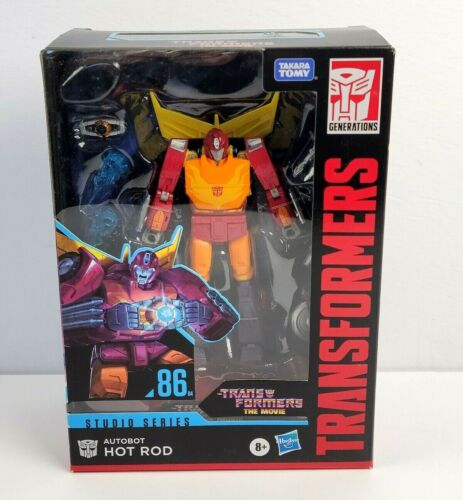 Transformers Studio Series Hot Rod 86 Voyager Class Action Figure NEW SEALED