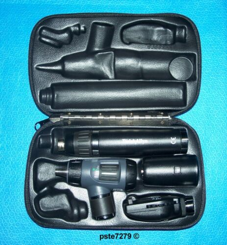 Welch Allyn; Lithium Ion (Smart) Set; MacroView Otoscope; Coaxial Ophthalmoscope