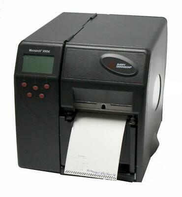 Used, Monarch 9906 M09906LCP Thermal Barcode Label Printer USB Parallel Rewinder for sale  Shipping to India