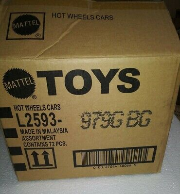 """2020 Hot Wheels 72ct """"G"""" case Opened**Super Deal**"""