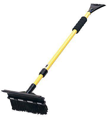 "Snow Removal Shovel Ice Scraper 52"" Extendable Car Telescoping Snow Broom Brush"