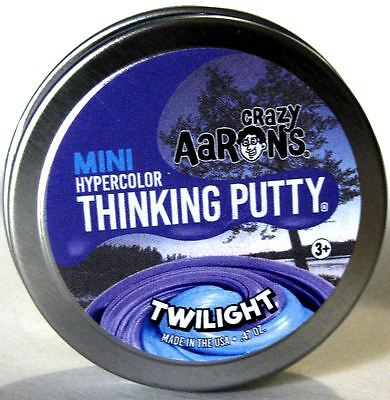 Twilight Hypercolor Heat Sensitive Crazy Aarons Thinking Putty Small 2 Inch  47