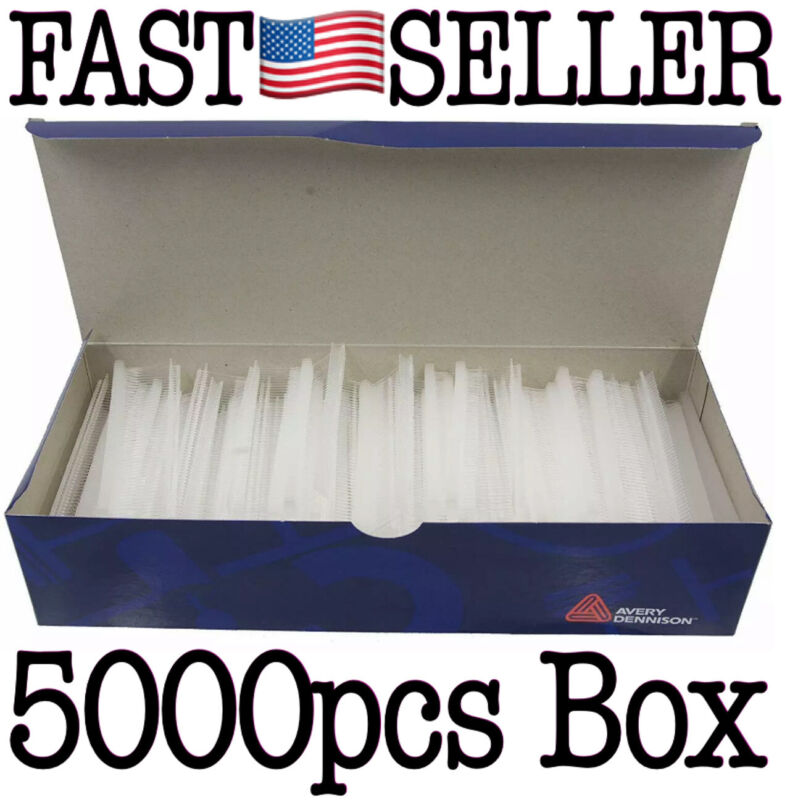 """Box Of 5000 0.79"""" (20mm) Avery Dennison 08960 Tagging Swiftach Barbs *NEW! FAST!"""