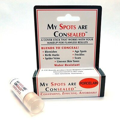 My Spots Are Consealed - Porcelain best concealer for body face back