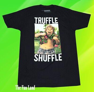 New Goonies Truffle Shuffle Chunk Photo Mens 1985 Black Vintage Classic T-Shirt - Goonies Chunk