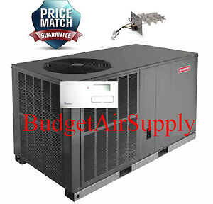3 Ton 14 Seer Goodman A C Electric Heat All In One Package