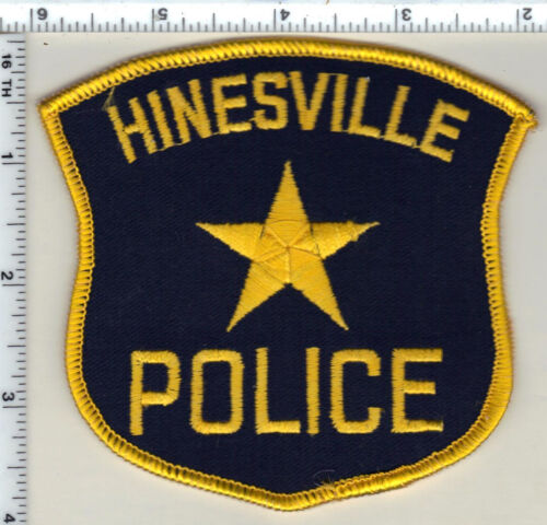 Hinesville Police (Georgia)  Shoulder Patch - new from 1990