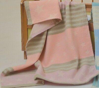 David Fussenegger Baby Receiving Blanket. 28x36.Light Weight Made in Austria. (David Fussenegger Baby Blanket)