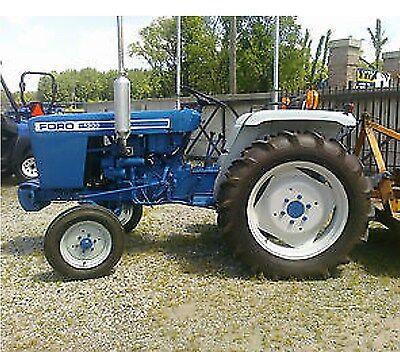 Ford Tractors Shop Service Repair Manual 1100 1110 1200 1210 1300 1310 1500 Cd