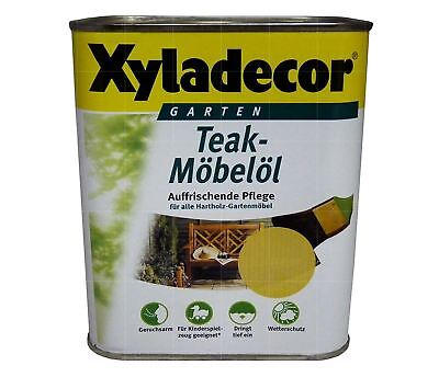 XYLADECOR Teak Möbelöl Teak 750 ml