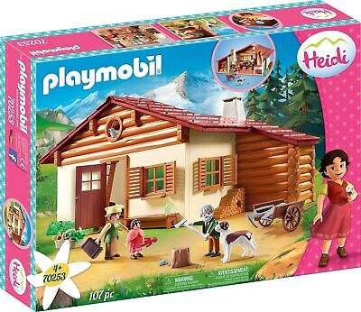 Playmobil 70253 - Heidi en la Cabaña de los Alpes - NUEVO