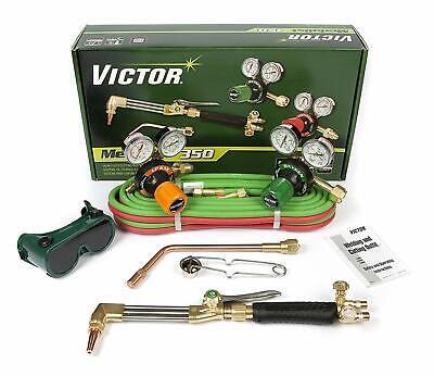 Customer Returned 0384-2692 Victor Medalist 350 Torch Kit Set With Regulators