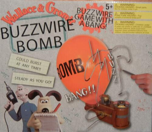 Wallace and Gromit  BUZZWIRE BOMB game    NRFB   Retired/discontinued   VHTF