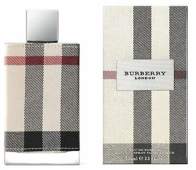 BURBERRY LONDON Perfume Fabric edp 3.4 oz New edition New in Box