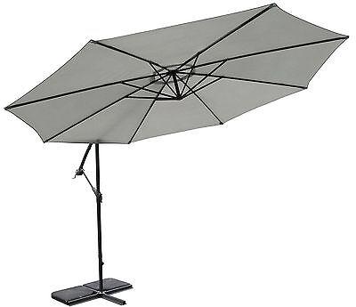 300cm Ampelschirm Sunny Sonnenschirm Sonnenschutz Gartenschirm B-Ware
